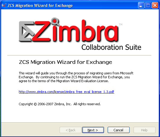 Zimbra collaboration suite 60 beta (codename: guns n roses)