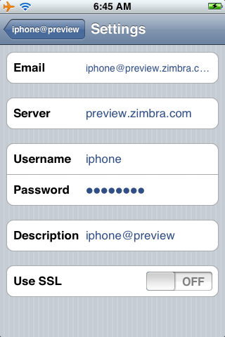Zimbra Mobile for iPhone - Zimbra : Blog