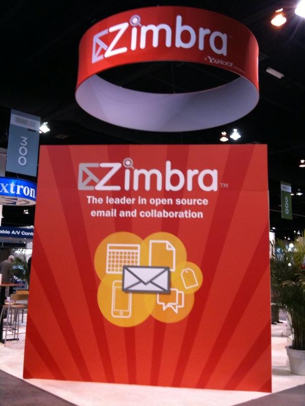 Zimbra booth 332